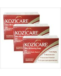 WestCoast Kozicare Skin Whitening Soap -75gm (Pack of 3)