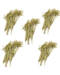 Ezee Bamboo Knot Skewers 5 Inches 500 Pcs, brown