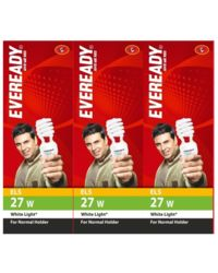 Eveready ELS 27W CFL (Pack of 3), white