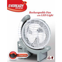 Eveready Rechargeable Fan With LED Light (RF01)