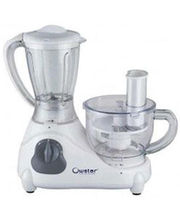 Ovastar OWFP-1401 Food Processor With 8 Attachments (White)