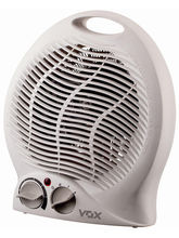 VOX FH-04 Portable Fan With 2000W Heater (White)