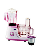 Glen 600 W GL-4051-FP Food Processor, multicolor