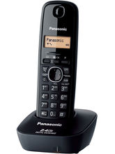 Panasonic KX-TG3411 Cordless Landline Phone (Black)