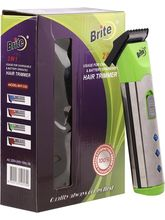Brite Chargeable BHT-530 Trimmer For Men, Green
