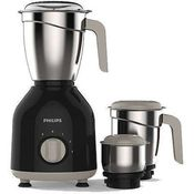 Philips HL7756/00 750 Watt 3 Jar Mixer Grinder,  black