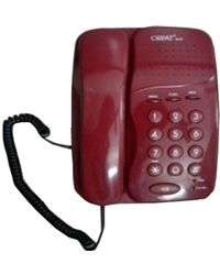 Orpat 1010 Corded Landline Phones, brgndcolor