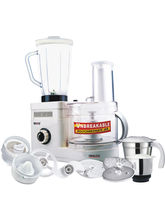 Inalsa Maxie Deluxe Food Processor (White)