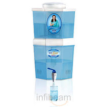 Kent Gold Optima UF Gravity Water Purifier, standard-white