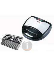 Padmini Sandwich Toaster Majesty (Black)