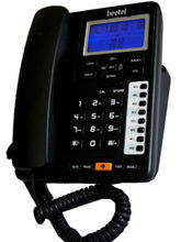 Beetel M76 Corded Landline Phone, black