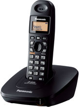 Panasonic KX-TG3611 Cordless Landline Phone (Black)