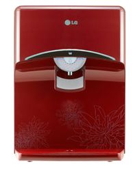 LG 8 L Water Purifiers WAW73JR2RP, red-floral pattern
