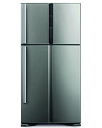 HITACHI BIG FRENCH 586 L (4 DOOR FF REFRIGERATOR) R-W660PND3 -(GBK),  steel