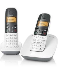 Gigaset A 490 (Duo) Cordless Phone,  white