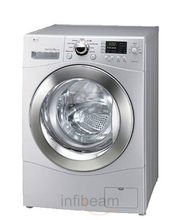 LG Front Loading Washing Machine F1256QDP 7Kg, multicolor