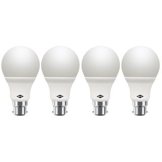 Round-B22-7W-LED-Bulb-(White,-Pack-of-4)