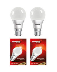 EVEREADY 9 WATT COOL day Light 6500K LED Bulb-Pack of 2, cool-day-light