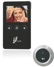 "I-Safe 2.8"" Electronic Easy View Digital Peep Hole Display"