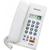 Panasonic Corded Phone KX-TSC62SXW Landline, white color