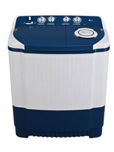 LG Semi-automatic Top-loading Washing Machine P7556R3FA 6.5kg, dark blue