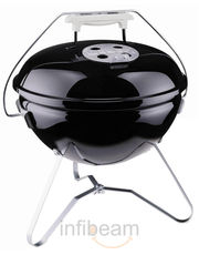 Weber Smokey Joe Gold Charcoal Grill Primium Black