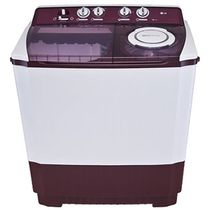 LG P1515R3S 9.5Kg Semi Automatic Washing Machine, multicolor