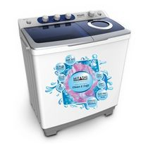 Mitashi 8.5 Kg MiSAWM85v25 AJD Semi Automatic Top Load Washing Machine with 2+ 3 Years Extended Warranty