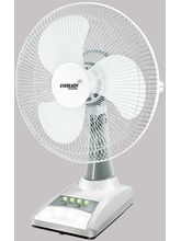 Eveready RF 03 (AC-DC) Rechargeable Table Fan, Whi...