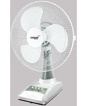 Eveready Rechargeable Table Fan RF 03 (AC-DC), white