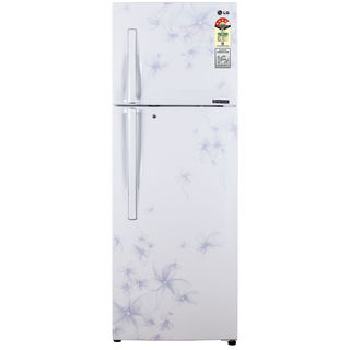 LG GL-D372HDWL 335 Litres Double Door Refrigerator (Daffodil) Image