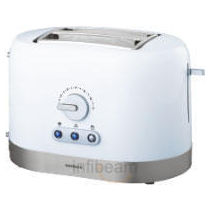 Havells Ovale Pop Up Toaster,  white