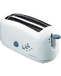 Morphy Richards AT 401 4 Slice Pop Up Toaster, multicolor