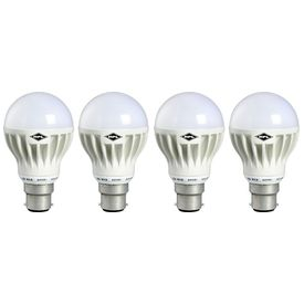 B22 12W LED Bulb (White, Pack of 4)