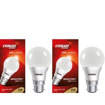 Eveready LED Light 5W+ 5W Combo Pack, multicolor