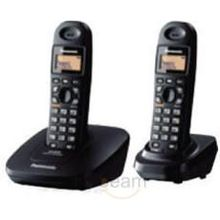 Panasonic Cordless Phone with 2 Handset, Caller Id, Speakerphone 3612, silver color