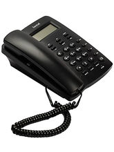 Beetel CLI Corded Landline Phone with Speaker M56, black