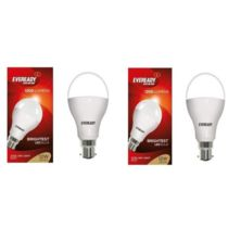 Eveready 12W-6500K Cool Day Light LED Bulb 2 Pc Pack, cool-day-light