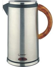 Ovastar 1.8 Ltr OWEK-186 Steel Electric Kettle Silver, multicolor