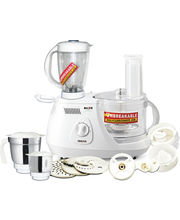 Inalsa Maxie Plus Food Processor (White)