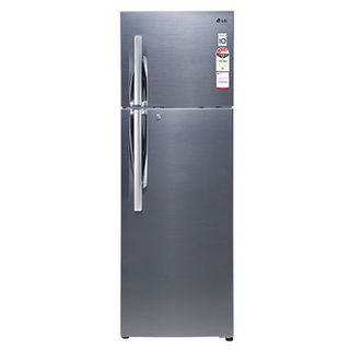GL-P402RSJM(SV)-Frost-Free-Double-Door-Refrigerator-Steel-Finish