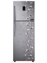 Samsung 321 L RT33JSMFESZ Double Door Frost Free Refrigerator, tender lily silver At 36,200