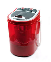 DMR 30-1208 Mini Washing Machine With Dryer, Red