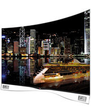 LG CURVED OLED TV 55EA9800, black, 55