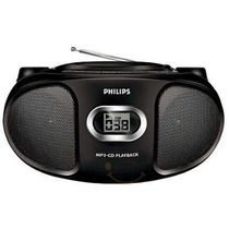 Philips Music System AZ302, standard-black
