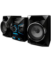 Sony USB Mini DVD Hi-Fi System MHC-GZX33D, black
