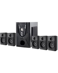 Flow Monster 5821 25000W PMPO 5.1 Speaker System,  black