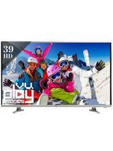 Vu 39E7575 HD Ready LED TV, black