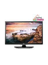 LG 24LF458A HD Ready LED TV, black