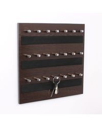 Regis Keyhold - Wall Mounted Key Chain Holder Board- Box - Skywood Wenge Big, glossy